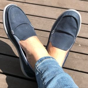11 CROCS - Denim Boat Shoes / Loafers